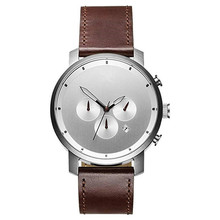 Personalisierte 316L Edelstahl Ultra Thin Watch for Men