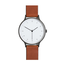 3 Hands Classic Simple Style Minimalist Stainless Steel Quartz Watch
