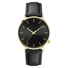 Crown on 4 Clock Classic Minimalist Custom Unisex Watch