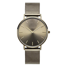 Verschiedene Case Color Simple Custom Logo Minimalist Watch