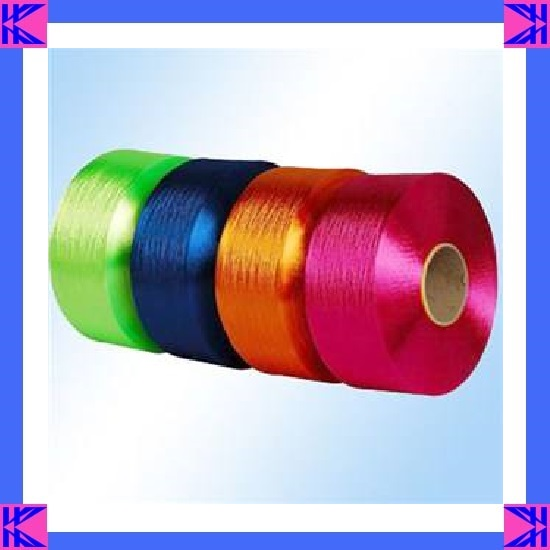 1200D Green Intermingled PP FDY Yarn for Webbing