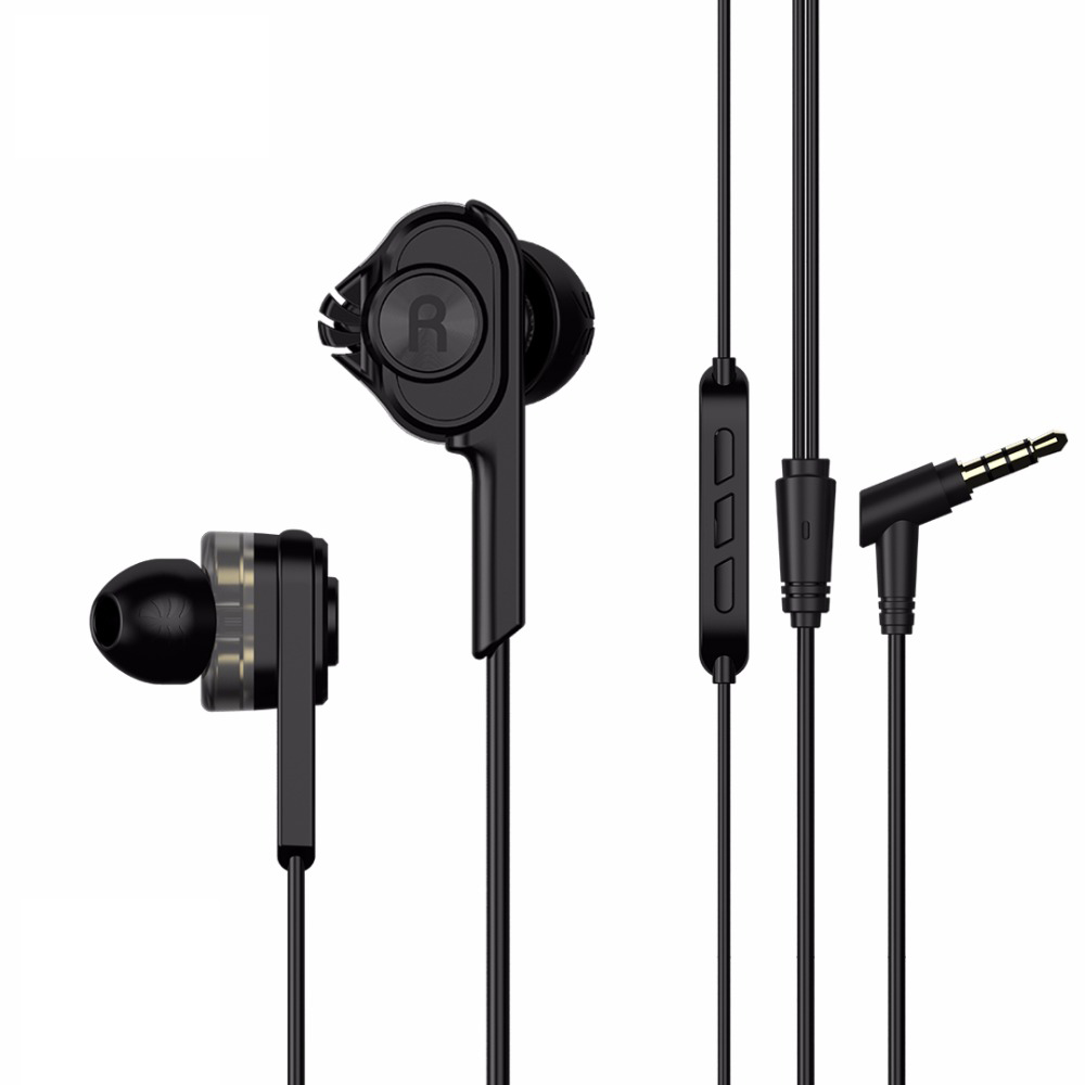 UiiSii T6 Bass Dual Driven Sound Headphones With Hi-res