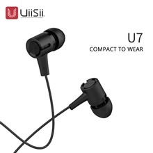 Uiisii U7 bass In-ear Headphones with Remote and Microphone