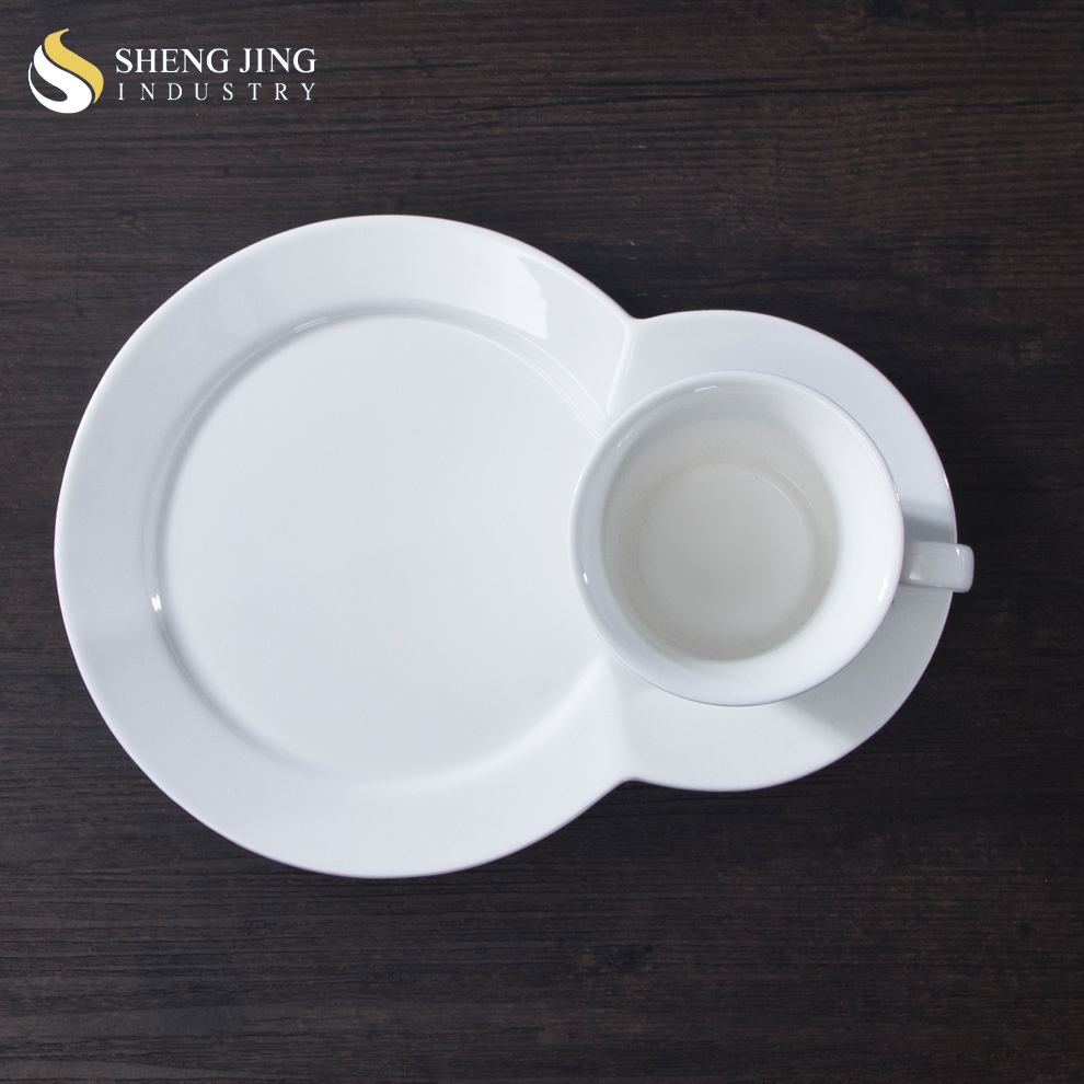 Restaurant Oven Safe White Coffee Tea Snack Cup With ...