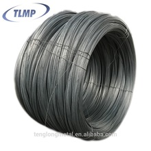 Galvanized low carbon steel wire for electric communications lines