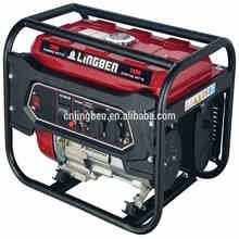 Lingben 2kw-5kw small air cooled biogas honda electric generator price