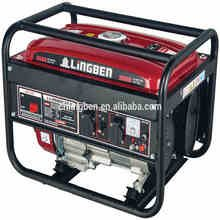 Lingben 6.5hp portable generator small gas turbine generator with CE