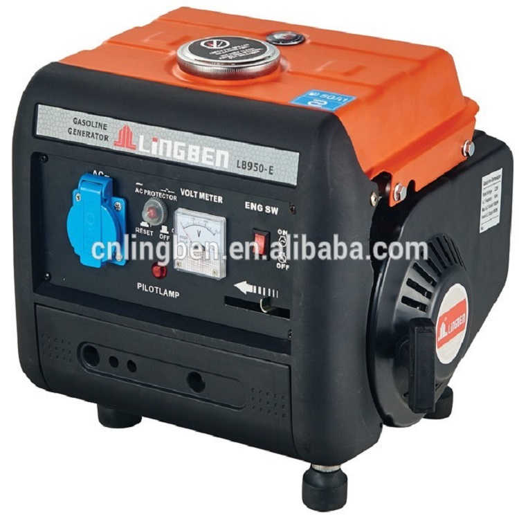 Lingben 950 Portable power mini generator price gasoline generator