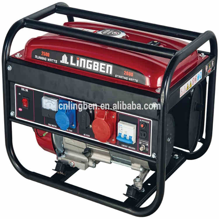 Lingben China 0.65kw-6kw High quality Portable generataor gasoline generator