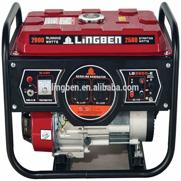 Lingben China 2.5kw generator electric power without fuel price list