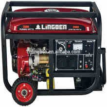 Lingben China 3kw220 volt types of electric power generator price