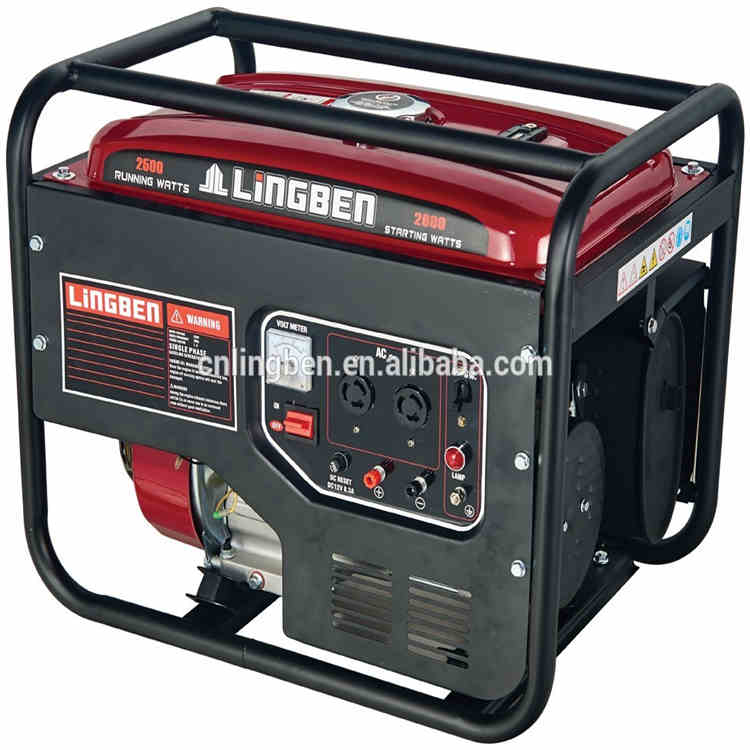Lingben China 4 stroke factory price generator electric power for sale