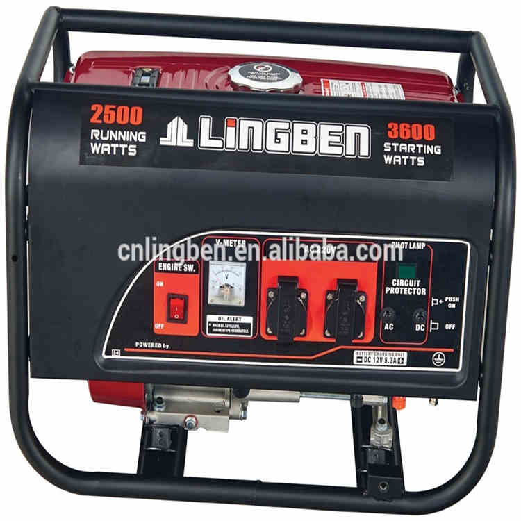 Lingben China cheap 3kva home generator set