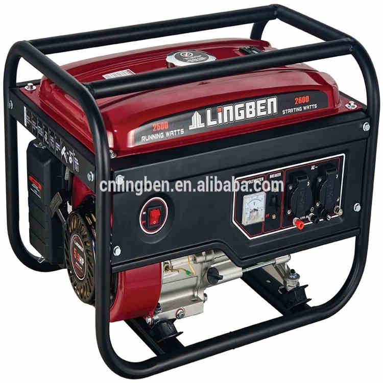 Lingben China gasoline generator 5.5hp without fuel for sale philippines