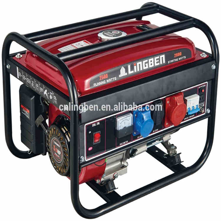 Lingben China yamaha power generator no fuel price list