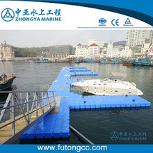 Highly Quality Plastic Modular Floating Dock for Boats