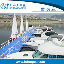 100% Recyclable Plastic HDPE Used Floating Docks for Sale plastic floating dock