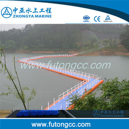 HDPE Plastic Floats Floating Pontoon Bridge for Sale