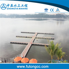 Aluminum floatting docks