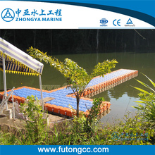 Plastic Floating Pontoon Dock Floating Pier for Boats