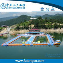 Swimming Pool Float Floating Pontoon Swimming Pool