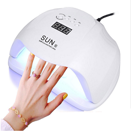 Elegant and generous nail lamp SUNX that reflects the beauty of ergonomic design