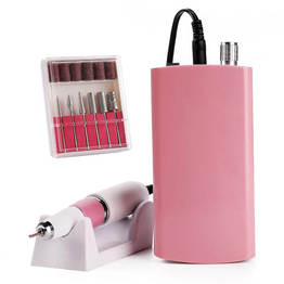 Largo tiempo de espera Nail Drill Machine recargable