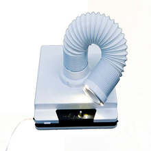 60W new strong nail dust collector suction dust cleaner retractable elbow design fan nail vacuum