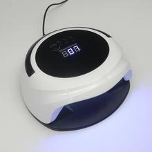 Adaptor with nail gel curing UV nail oil lamp
