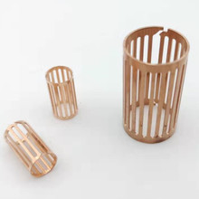 Stamping beryllium copper coil rounded grid terminal