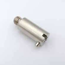 Free cutting iron precision connector for adaptor