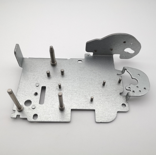 Precision metal assembling component used for handy printer
