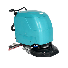 new push type manual floor scrubber driers manufacturer CE certified