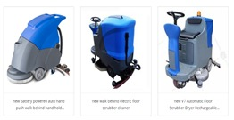 The scrubber is the most widely used cleaning equipment in the cleaning equipment industry