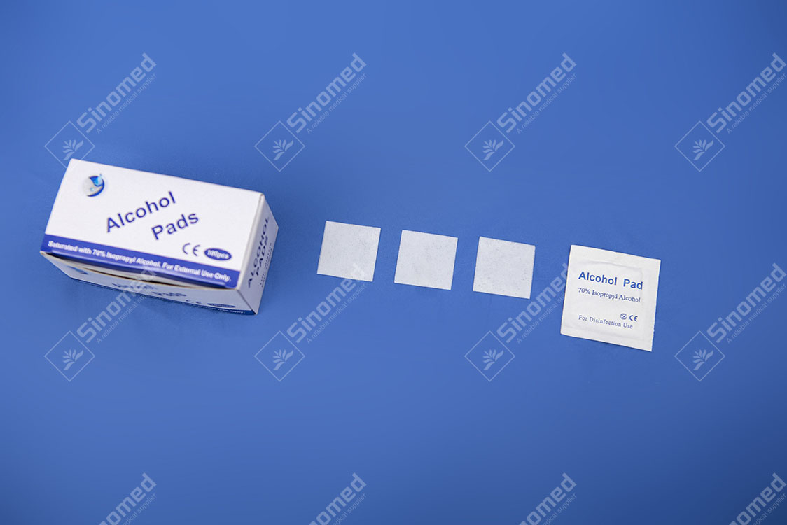 High Quality And Cheap Price Alcohol Swab After Injection For Skin Cleaning Care Alcohol Wipe Pad Manufacturers