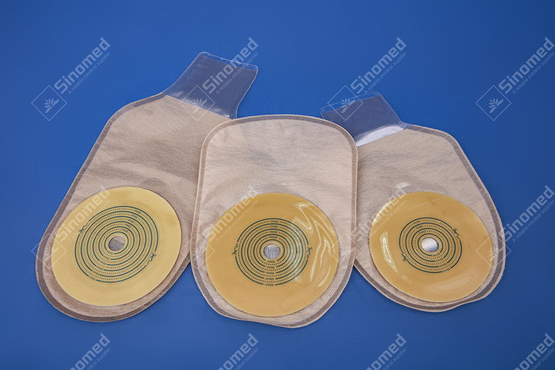 High Quality and Cheap Price Disposable Free Samples Medical Colostomy Bag Different Type Drainable Ostomy Bag Manufacturers