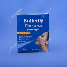 Butterfly closures bandage