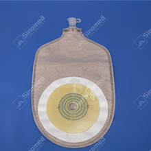High quality disposable free samples medical colostomy bag different type drainable ostomy bag