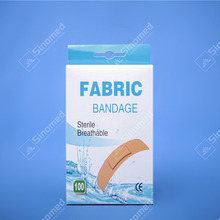 High quality different types elastic flexible fabric adhesive bandages