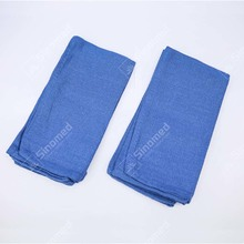 High quality medical blue soft operating room towel medical use surgical hand towels