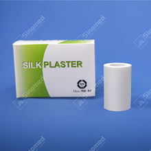 Professional factory direct supply medical silk plaster manufacturer CE approved low skin irritation silk tapes