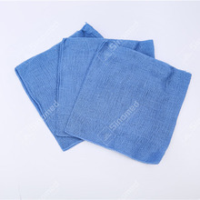 Customized disposable wound dressings and care for materials medical blue handy gauze swabs