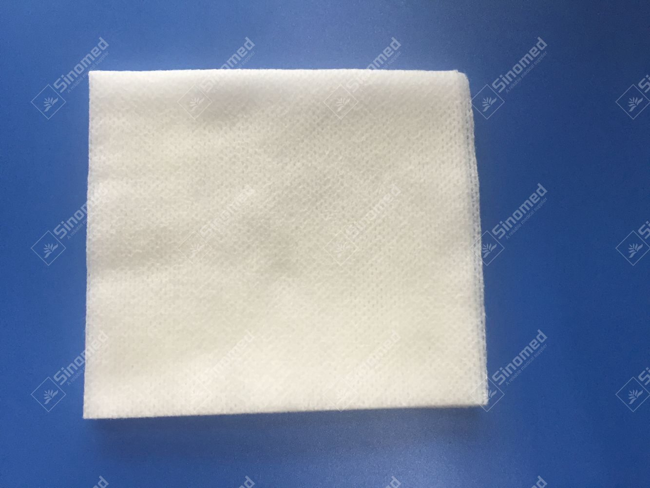 Hot Sale Standard Shape Non Woven Swabs