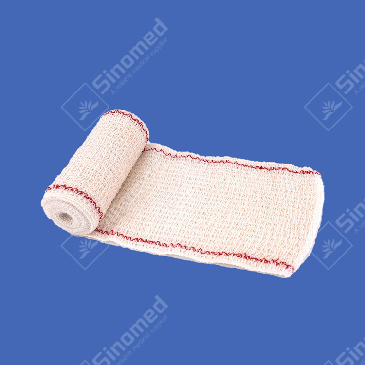 Best medical Crepe Bandage gauze bandage roll factory & exporter
