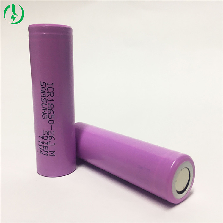 fabrication professionnelle 26jm 18650 2600mah batterie de batteries rechargeables au lithium ionique