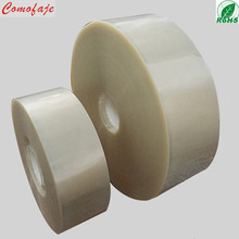 PET low adhesive waste discharge protective film for rotary die cutting machine