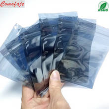 China Manufactory ESD Anti-static Shielding zip lock Packaging Bag with Custom Printing