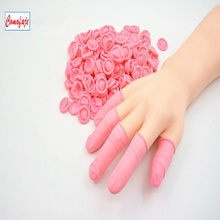 Disposable Antistatic Pink Color Finger Cots