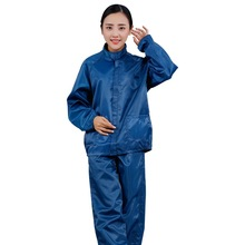 ESD Cleanroom Jacket and Pants Standard Collar Antistatic Clothes Suit