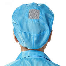 Polyester ESD Caps Antistatic cleanroom caps